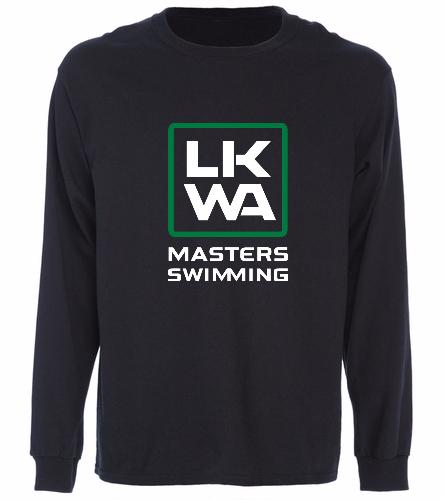 Centered Logo - SwimOutlet Cotton Unisex Long Sleeve T-Shirt
