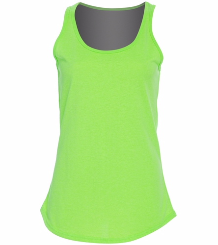 women's tank - SwimOutlet Women's Cotton Tank Top - Brights