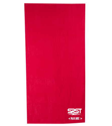 SRST - Royal Comfort Terry Velour Beach Towel 32 X 64