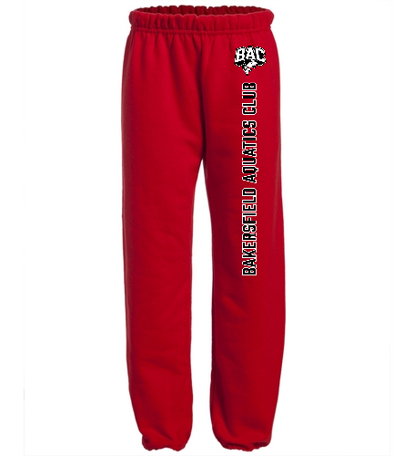 BAC Youth Sweatpant Red - Heavy Blend Youth Sweatpant