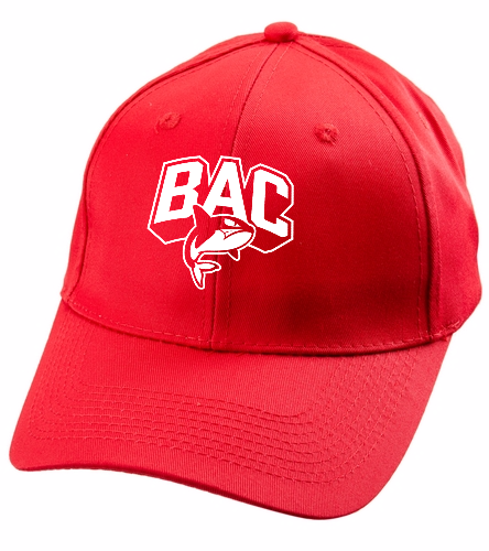 Red BAC Cap - Unisex Performance Twill Cap