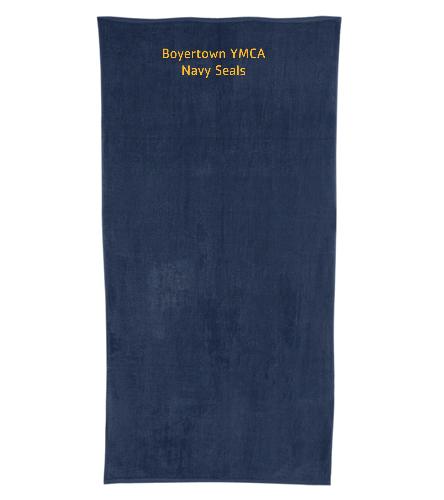BYNS Towel - Royal Comfort Terry Velour Beach Towel 32 X 64