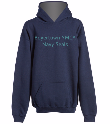 BYNS Youth Hoodie - SwimOutlet Youth Heavy Blend Hooded Sweatshirt