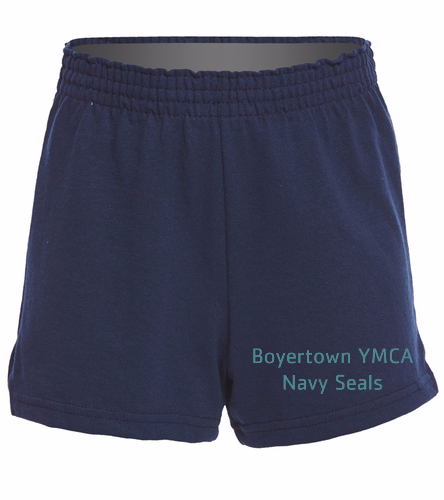 BYNS Youth Girls Short - SwimOutlet Custom Girls' Fitted Jersey Short