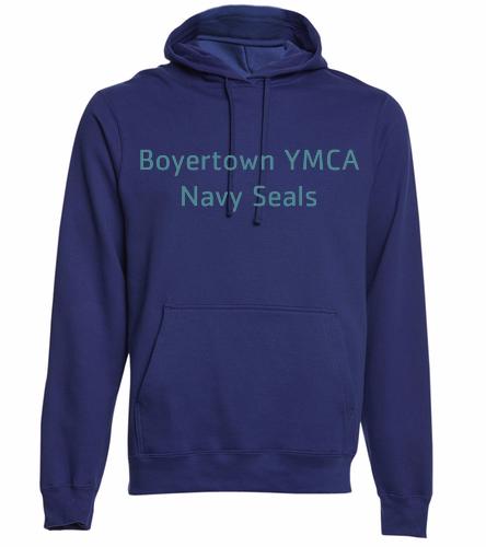 BYNS Adult Hoodie - SwimOutlet Adult Fan Favorite Fleece Pullover Hooded Sweatshirt