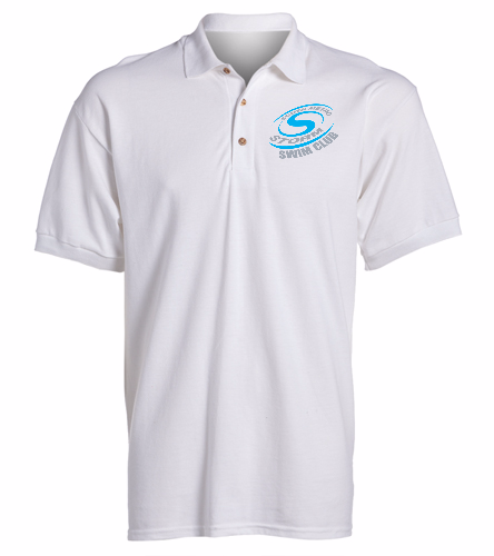 Storm Swim Club - SwimOutlet Ultra Cotton Adult Men's Pique Sport Shirt