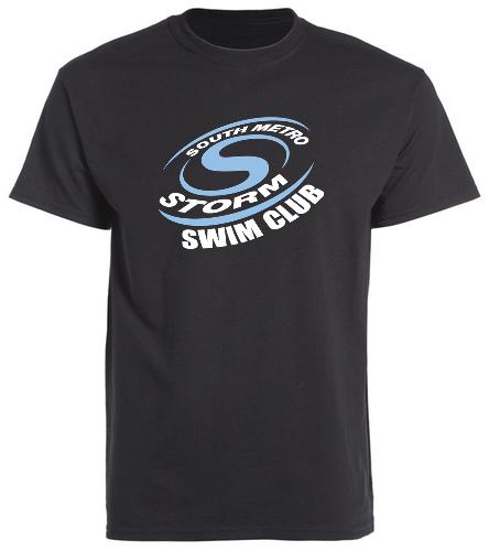 Storm Swim Black - SwimOutlet Cotton Unisex Short Sleeve T-Shirt