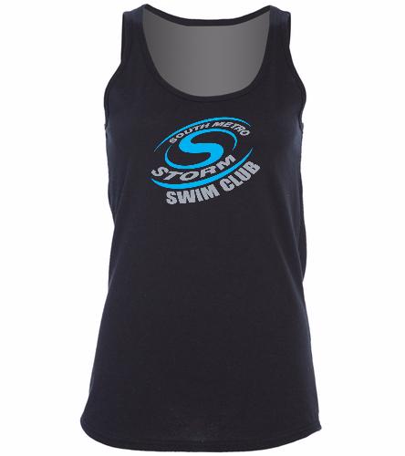 Storm Swimming  - SwimOutlet Women's Cotton Racerback Tank Top