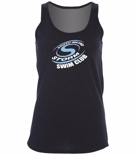 Storm Swim Club  - SwimOutlet Women's Cotton Racerback Tank Top