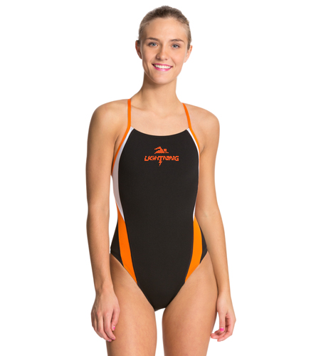 LRSA Lightning  - Speedo Launch Splice Endurance + Cross Back Swimsuit