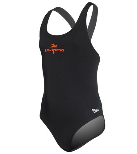 LRSA lightning - Speedo Solid Endurance Super Proback Youth Swimsuit Swimsuit