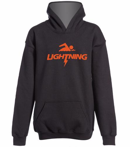 LRSA Lightning -  Heavy Blend Youth Hooded Sweatshirt