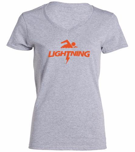 LRSA Lightning -  Ladies V-Neck