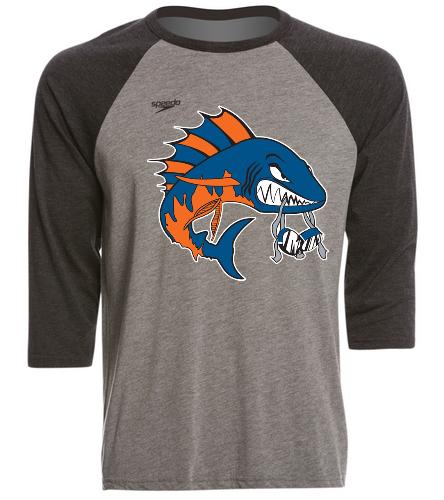 Wahoo unisex baseball tee - Speedo Unisex Baseball Tee Shirt