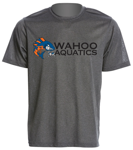 Wahoo Men's Tech tee  - SwimOutlet Men's Tech Tee