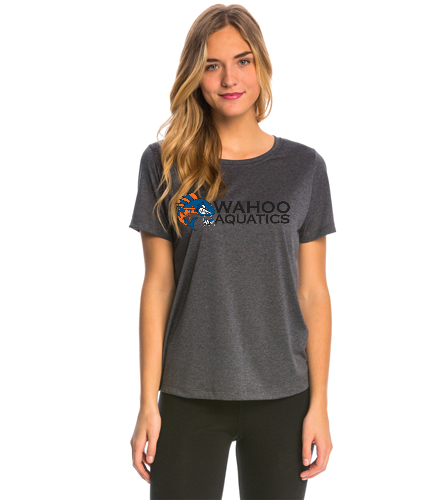 Wahoo women's tech tee - SwimOutlet Women's Tech Tee