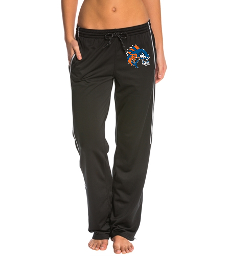 Wahoo women's black warm up pant - Adidas Women's Utility Warm Up Pant