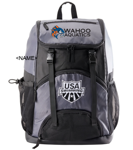 WAHOO - USA Swimming Large Athletic Backpack