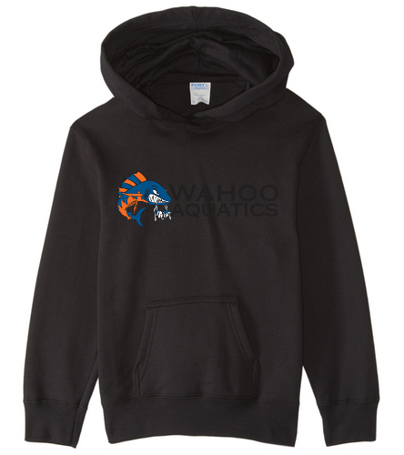 Wahoo youth fleece hooded sweatshirt - SwimOutlet Youth Fan Favorite Fleece Pullover Hooded Sweatshirt