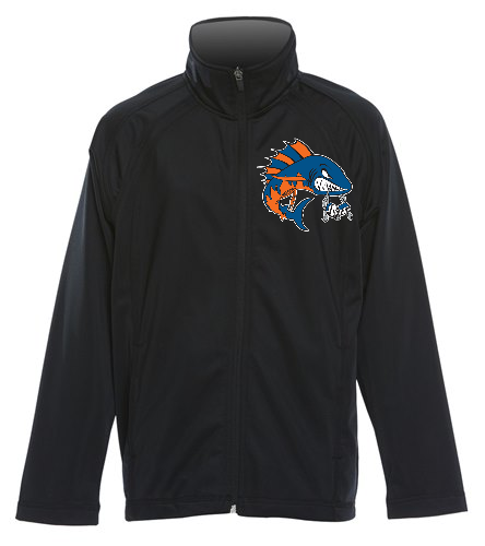 Wahoo Youth Track Jacket - SwimOutlet Sport-Tek® Youth Tricot Track Jacket