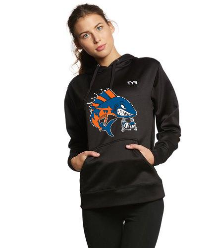 Wahoo TYR Women's hoodie - TYR Women's Alliance Pullover Hoodie