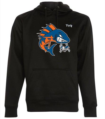 Wahoo Men's hoodie - TYR Men's Alliance Pullover Hoodie
