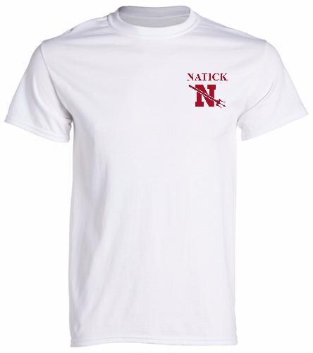 Natick- - SwimOutlet Men's Cotton Crew Neck T-Shirt