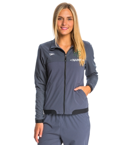 Aquatomics Womens Jacket - Speedo Women's Tech Warm Up Jacket