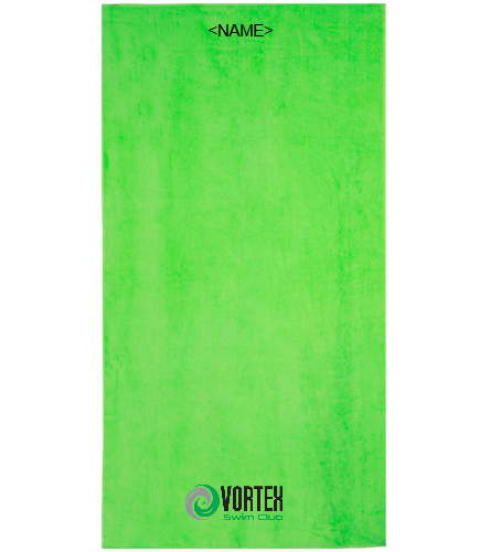 Team Towel (Option to Personalize) - Royal Comfort Terry Velour Beach Towel 32 X 64