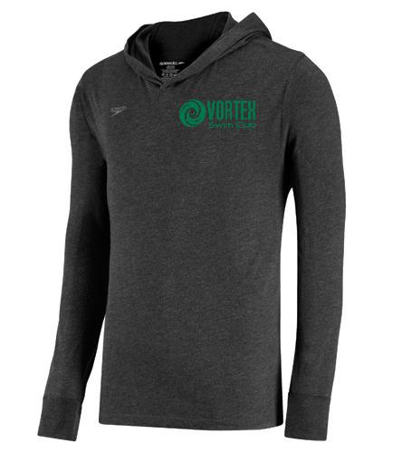 Grey tight fit hoodie - Speedo Unisex Pull Over Hoodie