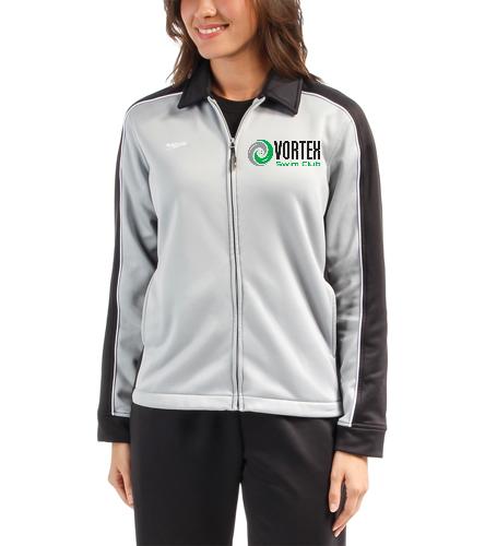 Vortex Logo  - Speedo Streamline Female Warm Up Jacket