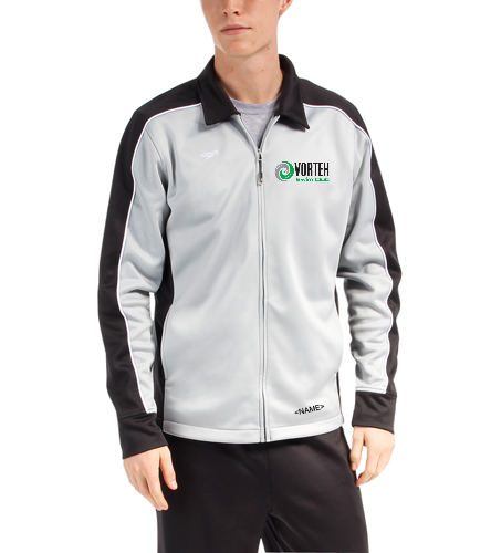 Personalize with Name on the Hip - Speedo Streamline Male Warm Up Jacket