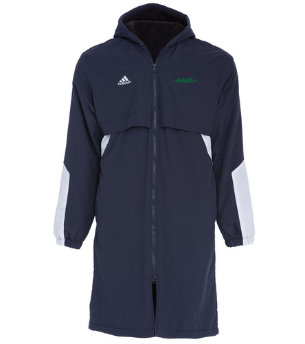 Customized with Vortex logo on the back - Adidas Parka