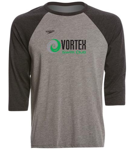 Vortex Shirts - Speedo Unisex Baseball Tee Shirt