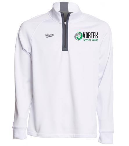 Vortex Speedo Sweatshirt No Hood  - Speedo Unisex 3/4 Zip Sweatshirt