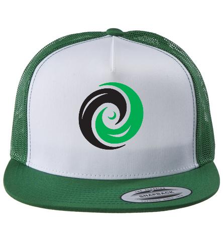 Trucker Hat Vortex Front - Swimoutlet Classic Mesh Trucker Hat