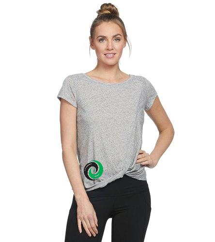 Women's Shirt with 2 sided Logo - Body Glove Active Gale Heather T-Shirt