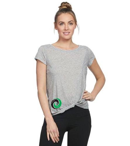 Women's Shirt 1 sided Logo bottom corner  - Body Glove Active Gale Heather T-Shirt