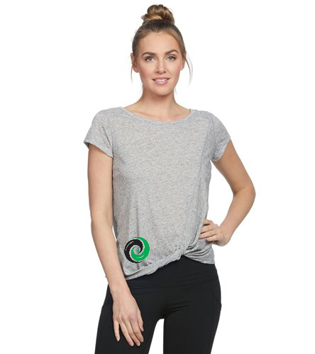 Women's Shirt 1 Sided Logo bottom corner (Medium) - Body Glove Active Gale Heather T-Shirt