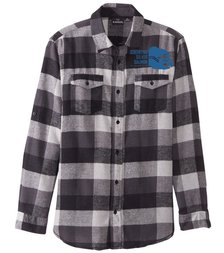 sss - SwimOutlet Yarn Dyed Long Sleeve Flannel