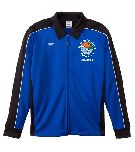 North Palm Beach Swim Club - Speedo Streamline Youth Warm Up Jacket