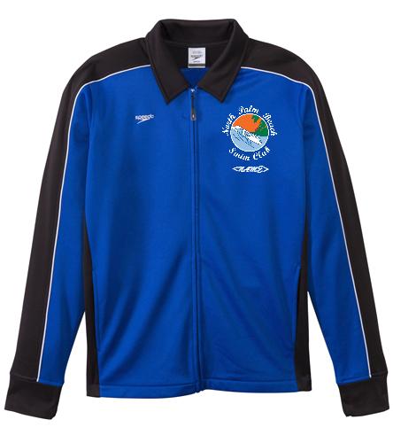 North Palm Beach Swim Club - Speedo Streamline Male Warm Up Jacket