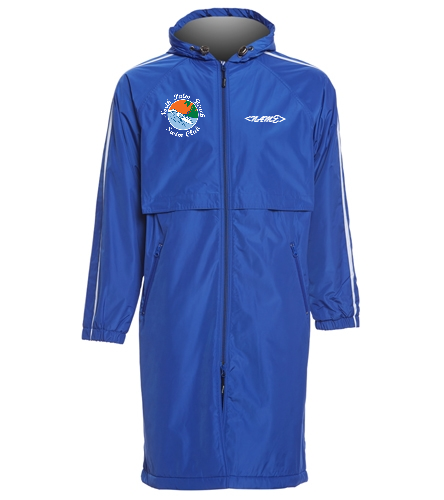 North Palm Beach  - Sporti Striped Comfort Fleece-Lined Swim Parka