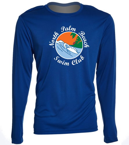 NPB Swim - SwimOutlet Long Sleeve PosiCharge® Competitor™ Tee
