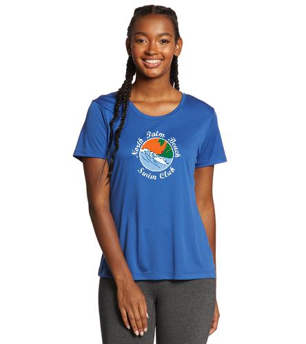 NPB Swim - SwimOutlet Ladies PosiCharge® Competitor™ Tee