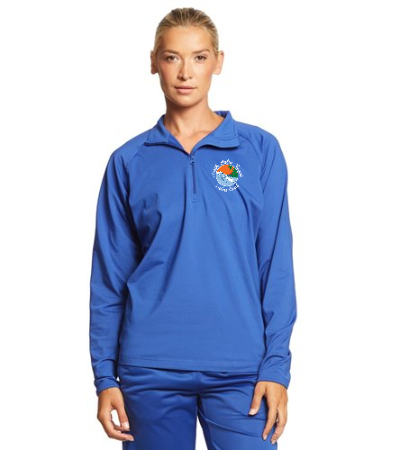 NPB Swim - SwimOutlet Sport-Tek®Women's Sport-Wick®Stretch 1/2-Zip Pullover
