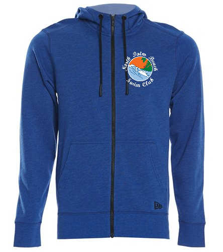NPB Swim - SwimOutlet New Era® Tri-Blend Fleece Full-Zip Hoodie