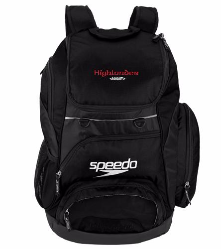 Highlander Black - Speedo Large 35L Teamster Backpack