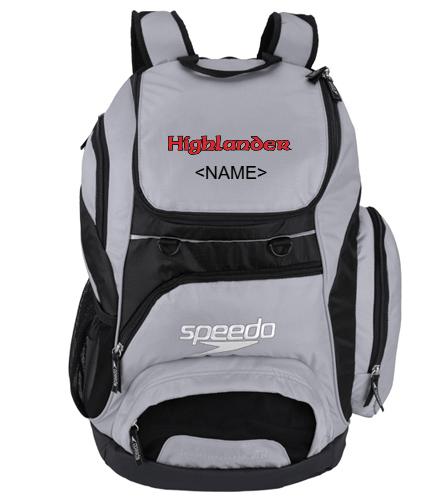 Custom Team Backpack - Speedo Large 35L Teamster Backpack