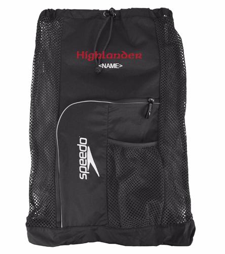 Highlander Mesh Black  - Speedo Deluxe Ventilator Mesh Bag